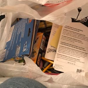 Other - Bag full of school supplies